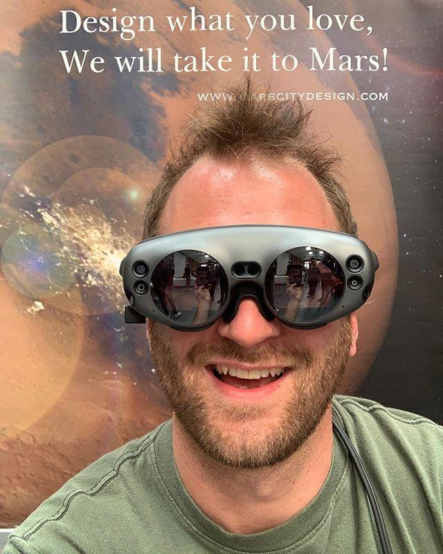 Thank you @marscitydesign for the great symposium. #NASA #AugmentedPhenotyping #Mars #Multiplanetary