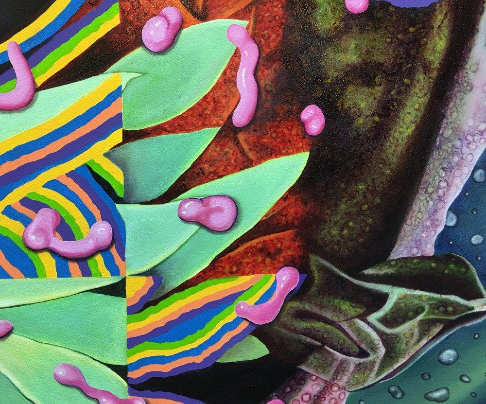 Detail: Flora Imaginarium