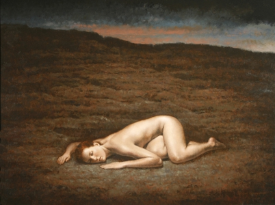 The Devil's Heartbeat, 2008, oil on linen, 24 x 32 inches