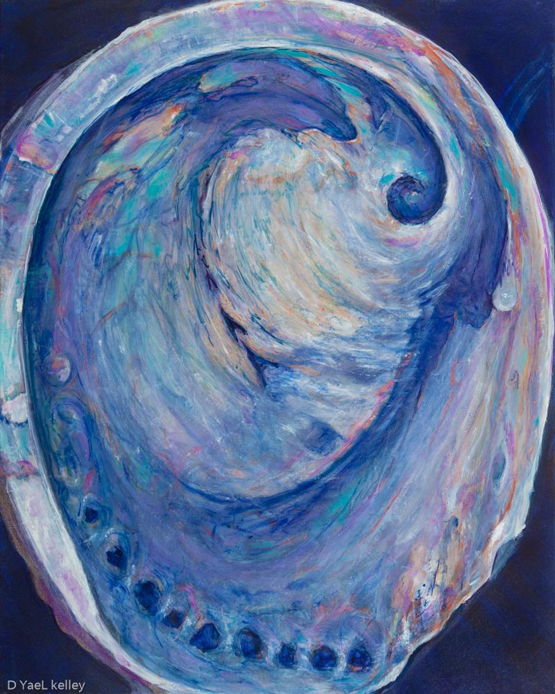 """Clare Rises – 30"""" x 24"""", oil 2017"""