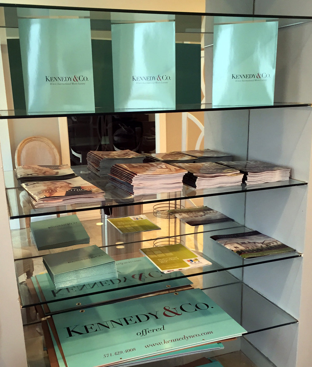 Kennedy & Co. Branding (in print)