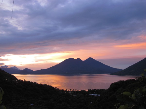 Lake Atitlán, Guatemala, photo by Diana Egizi