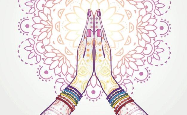 ~ Anjali Mudra ~ Artist Unknown