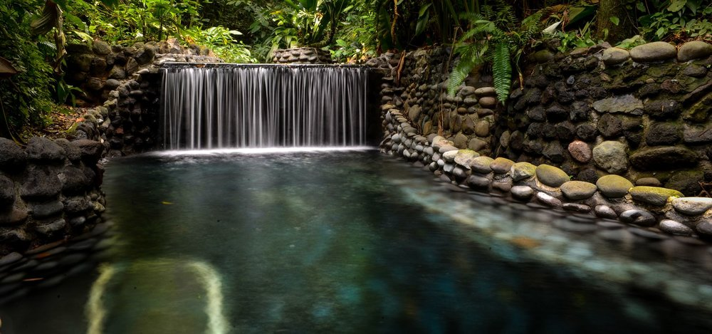 The Eco Termales Hot Springs in Costa Rica, soon to be our next rejuvenation locale during The Reset Retreat!