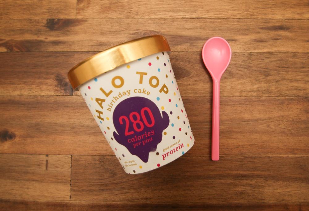 Halo Top Ice Cream Haul Confetti Bloom