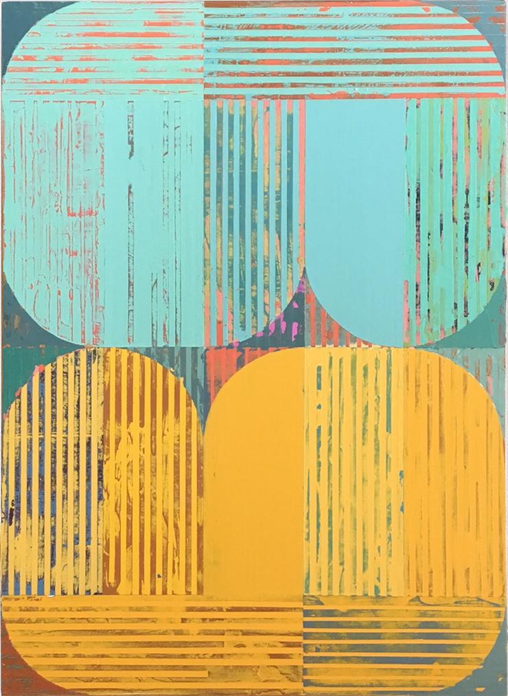 "Companions ,acrylic on panel,18x12"""