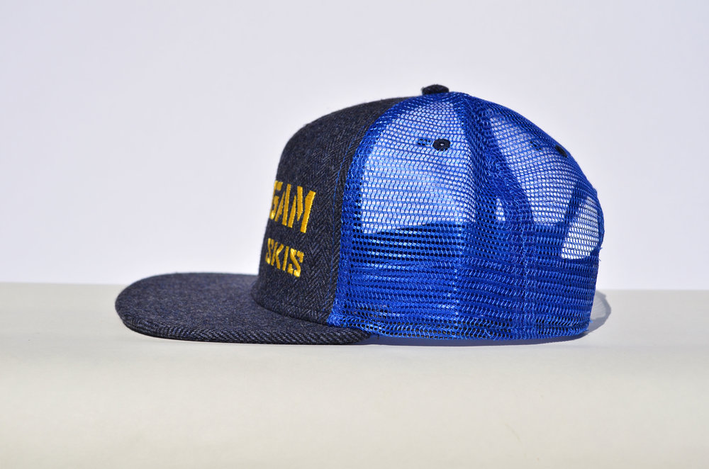 1c130f2e733 Herringbone Wool Trucker Hat