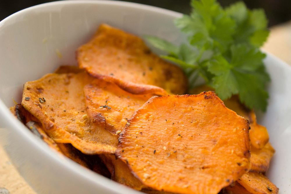Sweet Potato Chips -