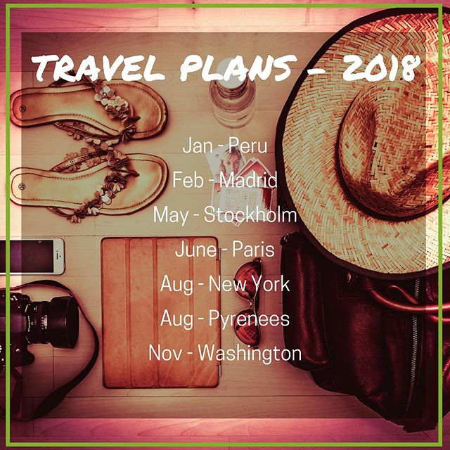 😍😍😍 When work 💼 meets travel ✈️! . . . #bodysoulwhole #barcelonahealthcoaching #peru #madrid #stockholm #paris #newyork #pyrenees #washingtonstate #travelgoals2018 #workandtravel #expatlife #thyroidcancersurvivor #inittowinit