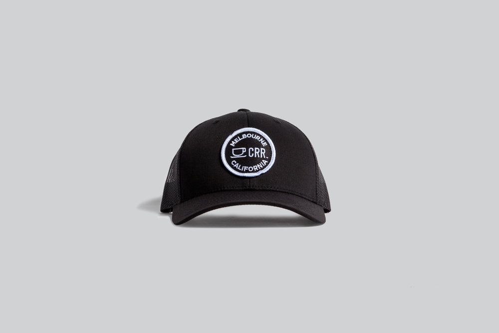 739b5ccbfdf501 CRR Trucker Snapback Hat — Common Room Roasters