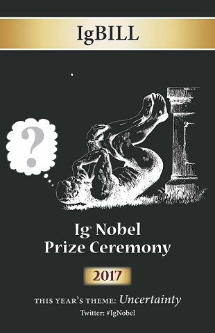 Chessman Wealth: 2017 Ig Nobel Prizes...