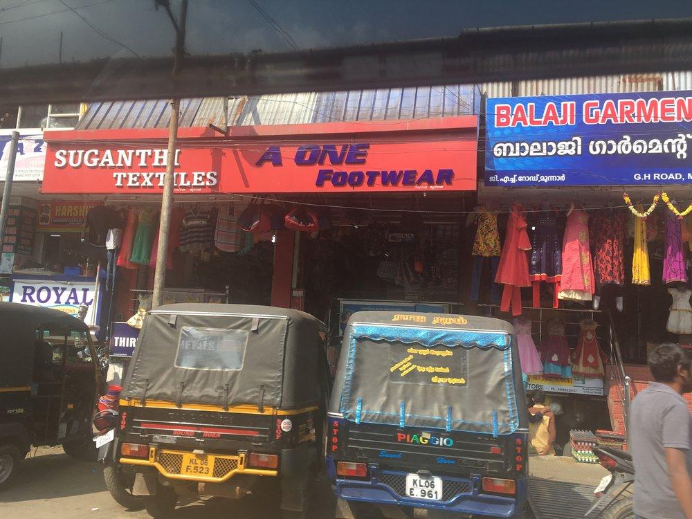 Traveling through Munnar to visit the Shrishti-Tata Iniative