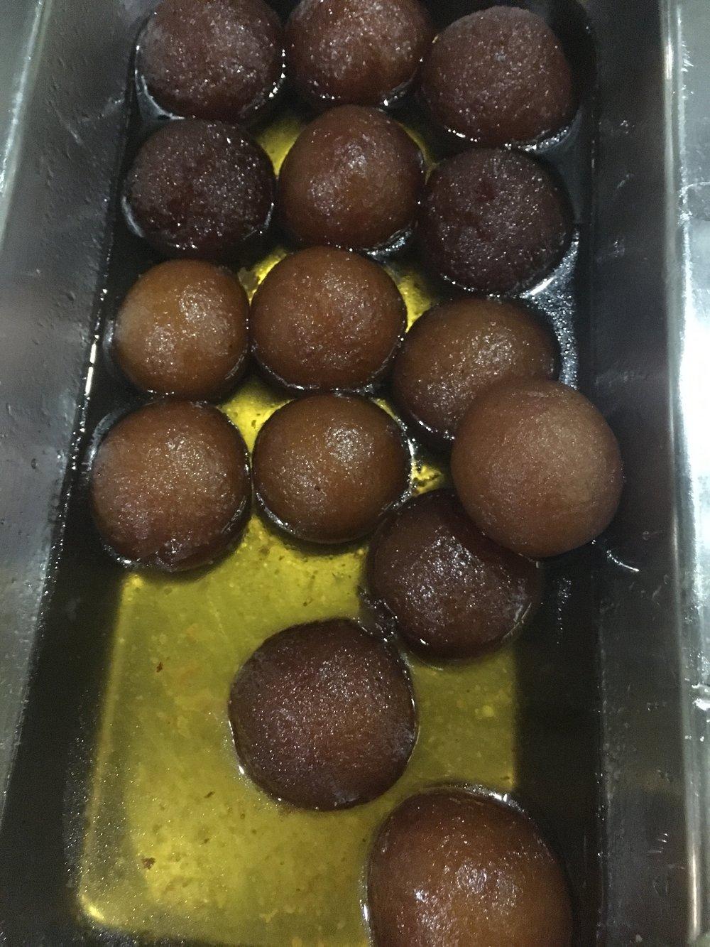 Dessert! Gulab Jamon!