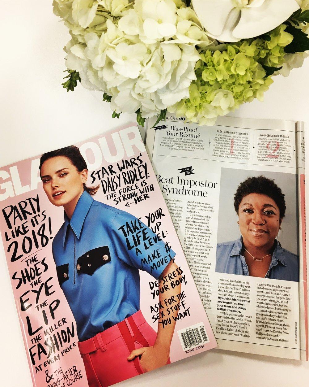 Glamour Magazine, December 2017 Issue