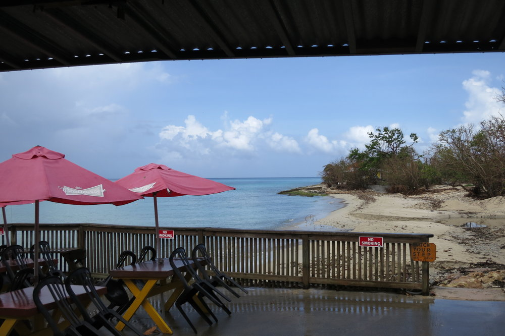 St Croix operating beach front restaurant.JPG