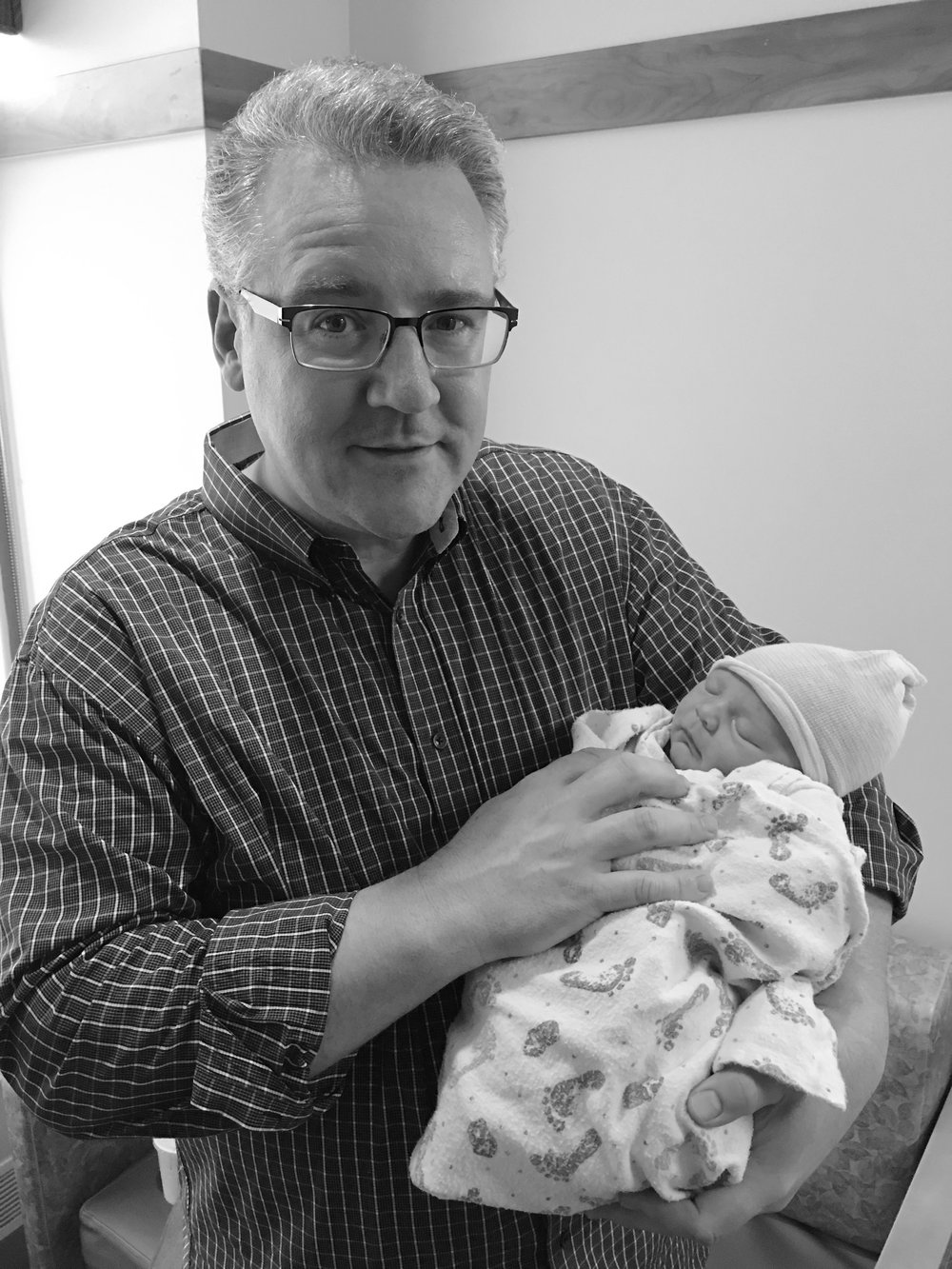 Although he still has all his hair and teeth, Brett Levitre is now a grandfather, giving Tony his second great-grandchild.