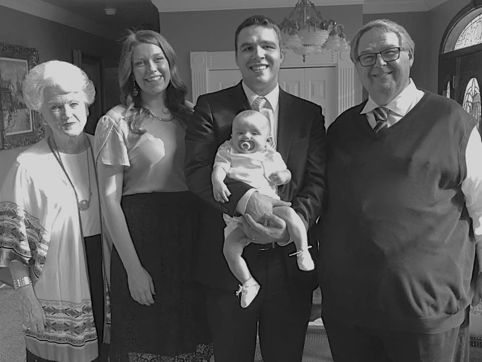 Tony reached a major milestone this year with the birth of his first great-grandchild, though not through much effort of his own; his granddaughter did most of the work.  Be sure to congratulate him on his new status as great-grandfather.