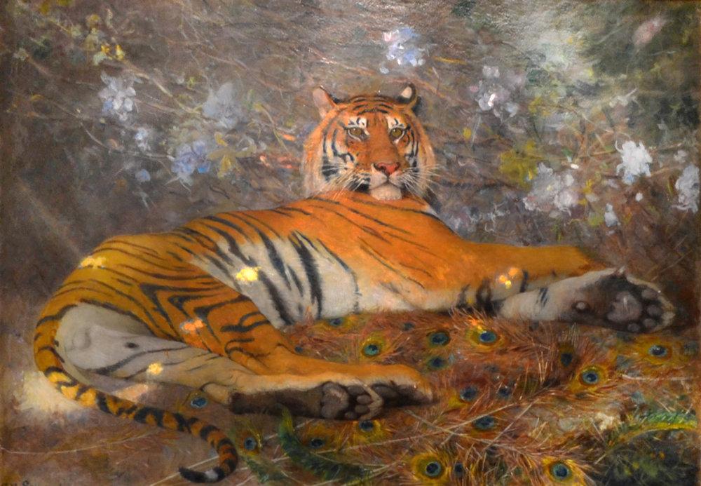 Tigre de l'Annam (c. 1895) by Gustave Surand