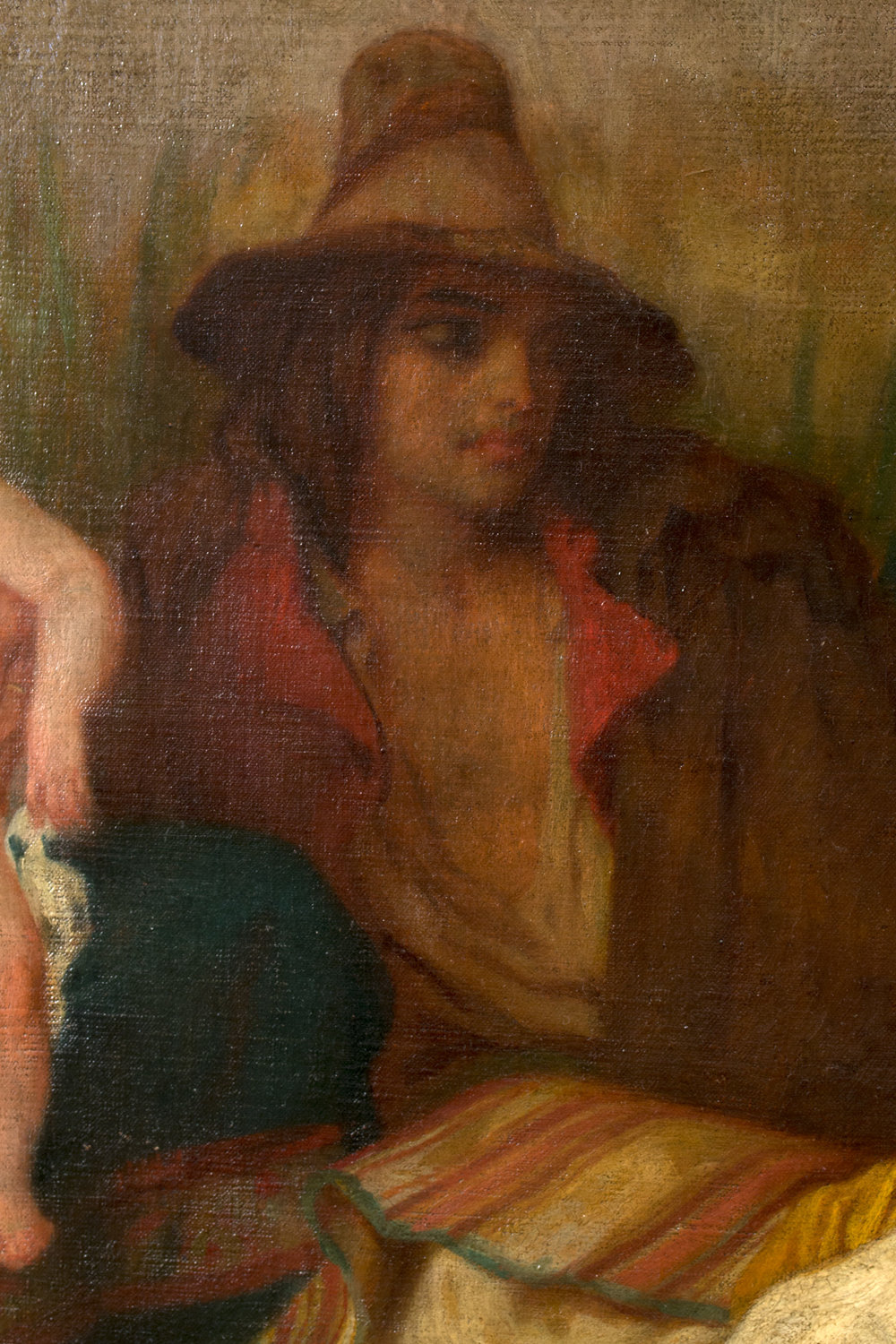 Detail from La Mal'aria (1854)