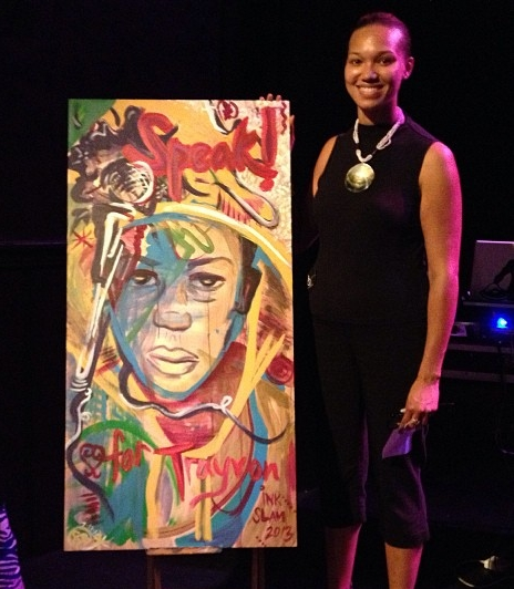 "Trayvon Martin, at ""Da Poetry Lounge"""