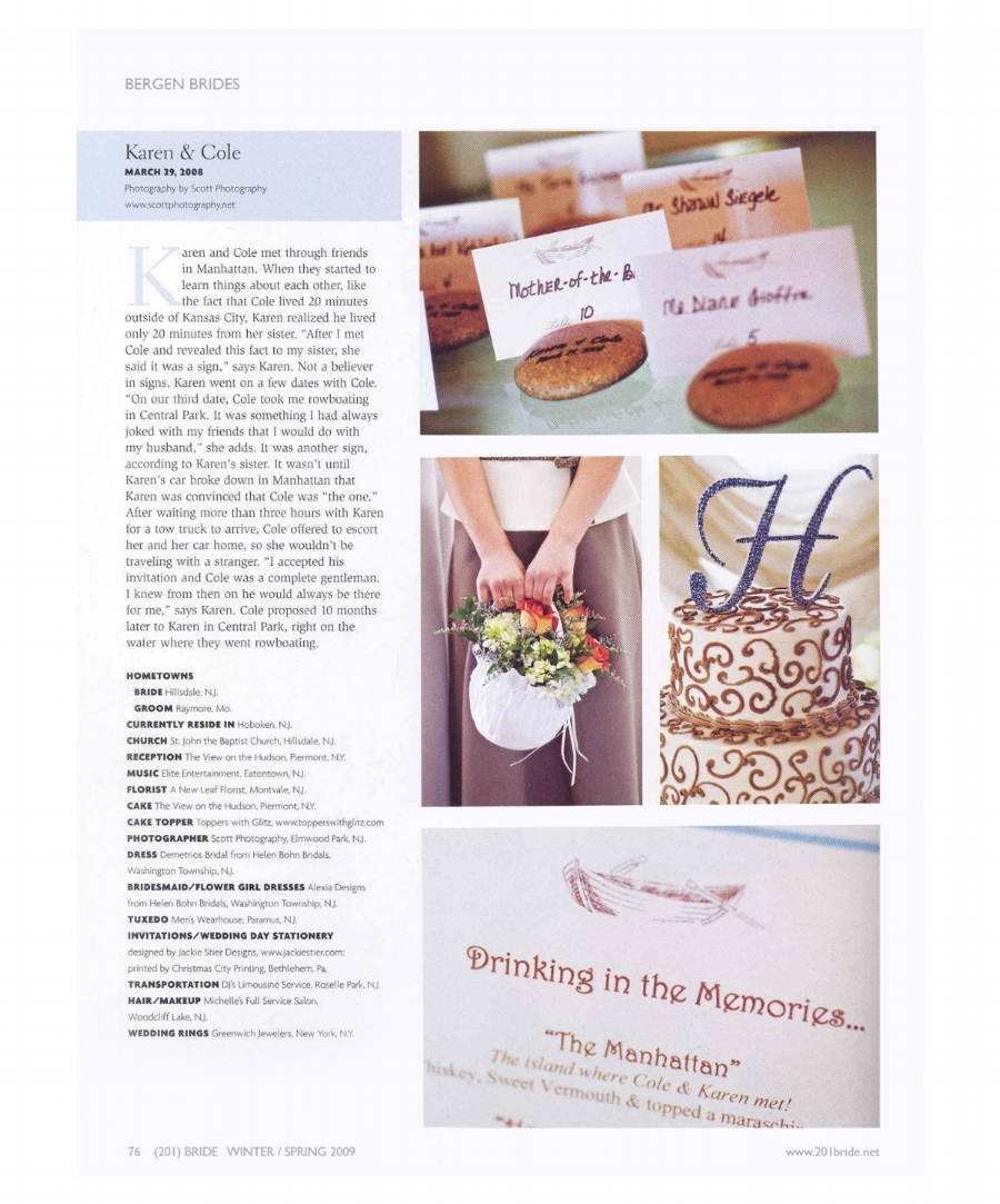 201 Bride Magazine