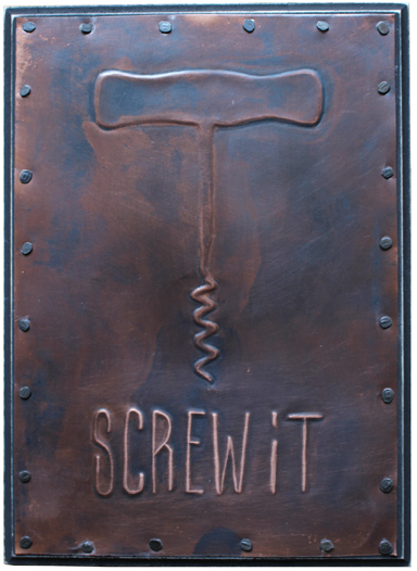 "Screw it  /  5 x 7""  /  $55"