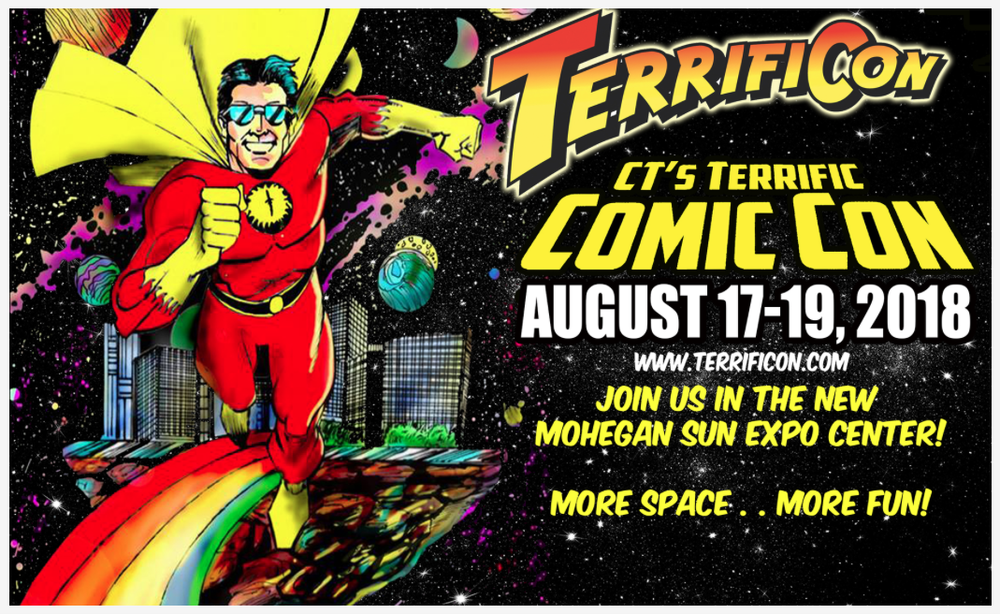 COMIC CON HOURS FRIDAY, AUG.17  3PM - 9PM SATURDAY, AUG.18  10AM - 7PM SUNDAY, AUG.19  10AM - 5PM FREE PARKING!