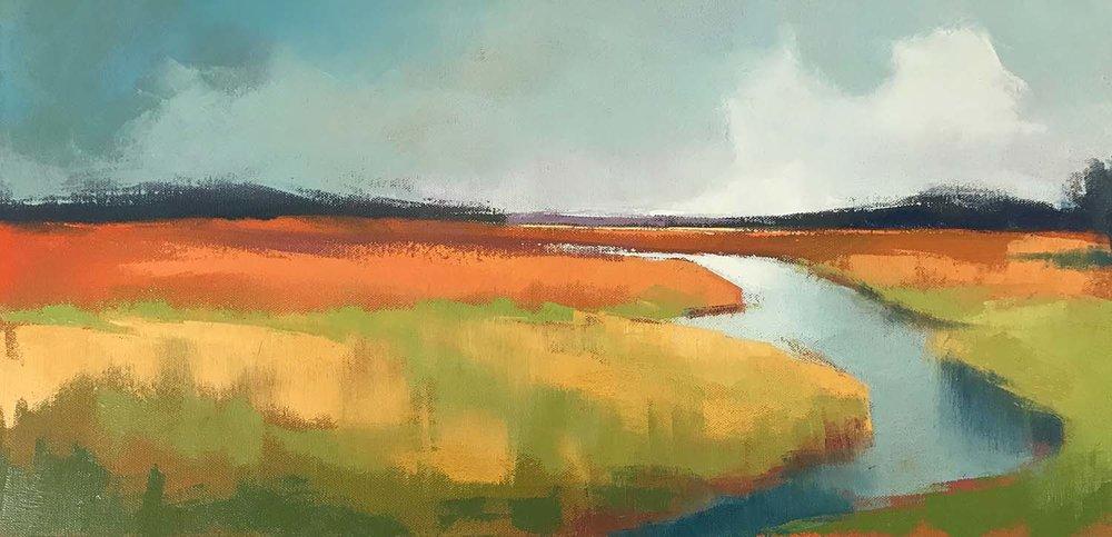 Autumnal Marsh