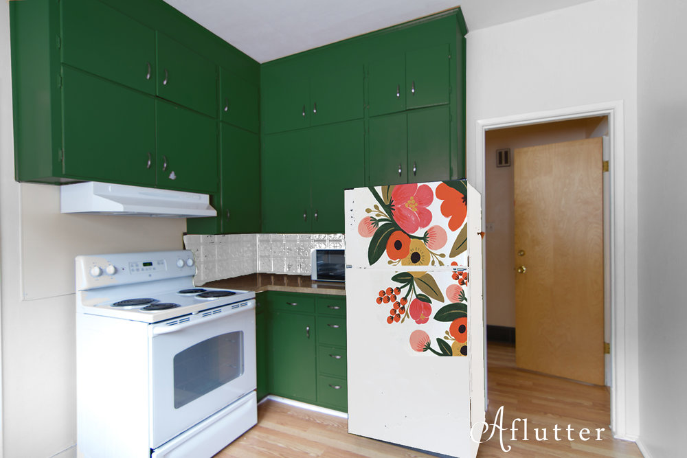 Green-with-floral-fridge.jpg