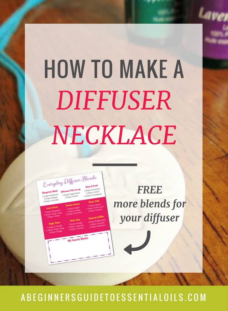 Diffusing is one of my favorite ways to use essential oils. And, when I'm away from home I can take the goodness with me when I'm wearing a diffuser necklace. Today we're going to talk about how to make a diffuser necklace - so you can enjoy the benefits of your essential oils wherever you go.