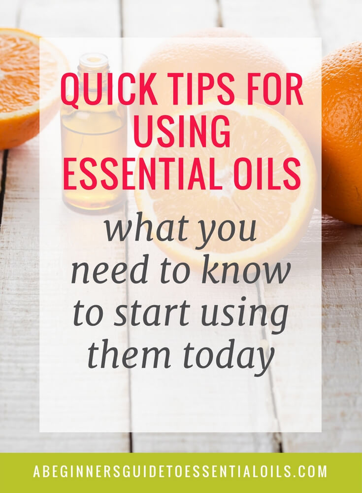 When you first start using essential oils, it feels like information overload. There is so much (sometimes contradictory) advice and information that it can be difficult to sift through it all.I suggest you focus on the basics - how to diffuse essential oils (one of the easiest ways to use them), the basic techniques for applying them topically, and ways to use them around the house. Learn a few basic tips for using essential oils - that you can do today!