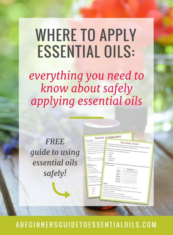 Are you new to essential oils? Now sure where to apply essential oils?Essential oils aren't difficult to use - there are just a few things you need to know about applying them. Once you understand a few simple principles about essential oils you'll wonder why you ever worried!