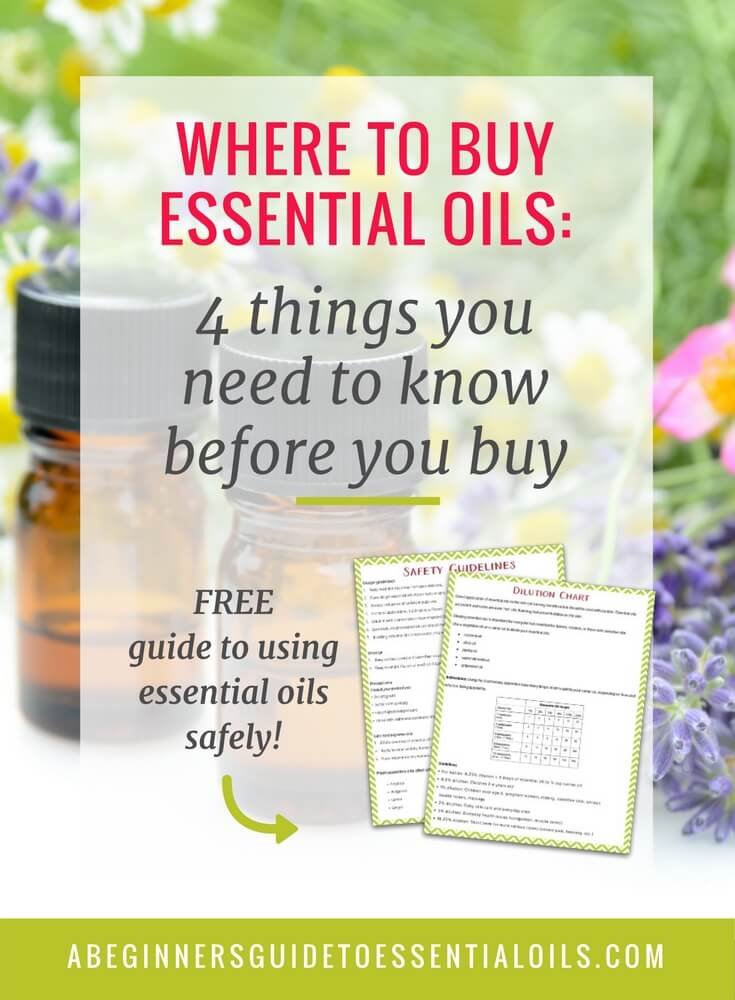 Essential oils are powerful substances and should be used with caution, especially in the brands you choose to purchase. So how do you know where to buy essential oils? There are many, many companies marketing and selling essential oils today - some good, a few great, and a some not so great. No matter where you choose to purchase your oils, there are a few things you should consider. Let's take a look at what you need to know before you make that step.