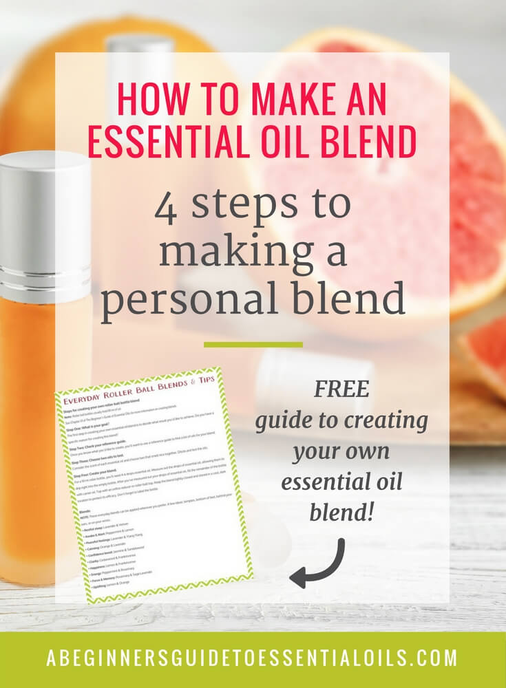 how to make an essential oil blend 4 steps to making your own a beginner 39 s guide to essential. Black Bedroom Furniture Sets. Home Design Ideas