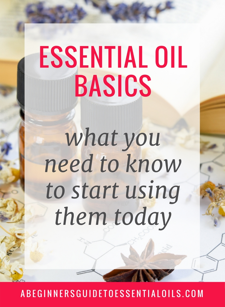 Not sure where to start with essential oils? Find everything you need to know to start using them today. All the essential oil basics, how to use essential oils safely -- everything an essential oil beginner needs to know.