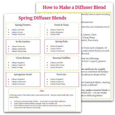 essential oil spring diffuser blends free printable.png
