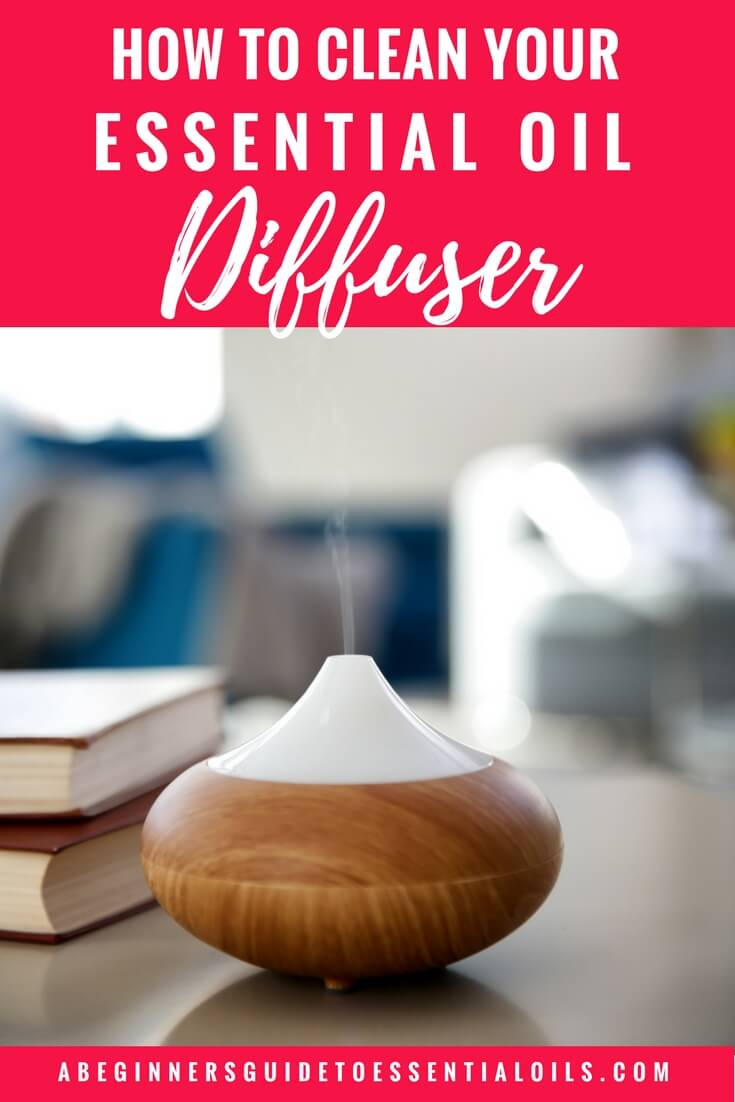 The easiest way to begin using essential oils is aromatically - with an ultrasonic diffuser. All you need to do is add some water to the reservoir, a few drops of essential oils, put the cover on top and start it up. Within moments you'll be enjoying the aromatic benefits of your favorite essential oils. While it certainly is easy to start using a diffuser, you will need to give that diffuser a good cleaning once in awhile. Thankfully, it's not a very difficult task! Let me show you how to clean your essential oil diffuser.