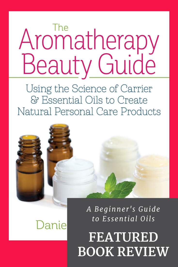 The Aromatherapy Beauty Guide by Danielle Sade is a fantastic, comprehensive resource that will teach you everything you need to know to create your own natural personal care products using essential oils. You'll learn about the basic ingredients you can use, essential oils that are great for skin care, and the formulations and recipes to create your own personalized skin care products.