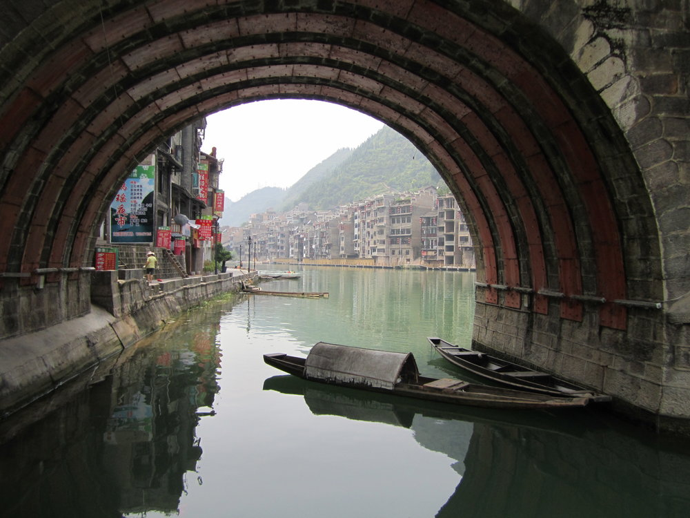 Zhenyuan Village, Qiandongnan Miao and Dong Autonomous Prefecture, Guizhou Province, PRC, July 2012