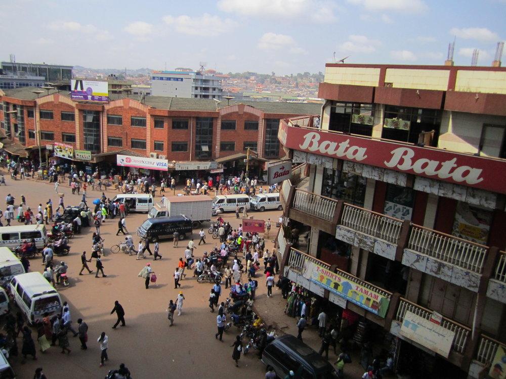 Williams Street, Kampala, Uganda, September 2013