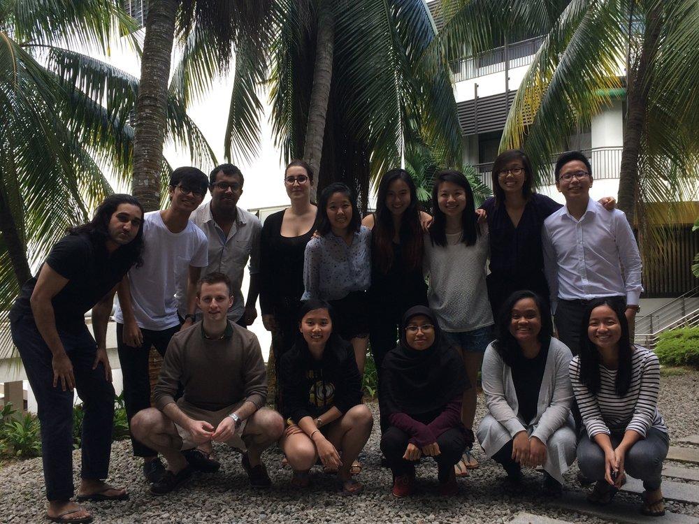National University of Singapore, Singapore, July 2015