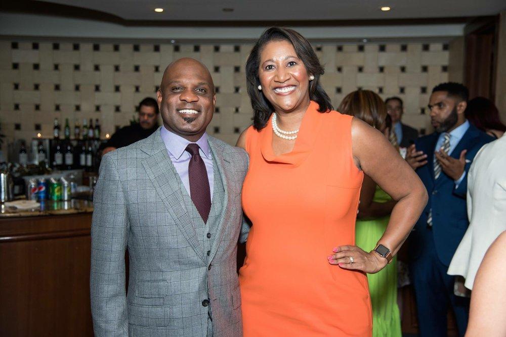 Lamell McMorris, Principal Greenlining Realty USA, Dorri McWhorter, CEO YWCA Metropolitan Chicago