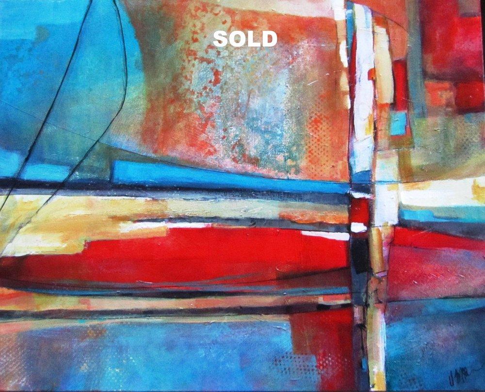 """Native Voices  24""""X 36""""   Acrylic on Canvas"""