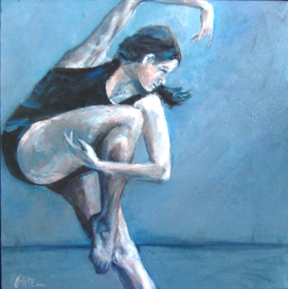 Art of Dance   20X20   Acrylic on Canvas
