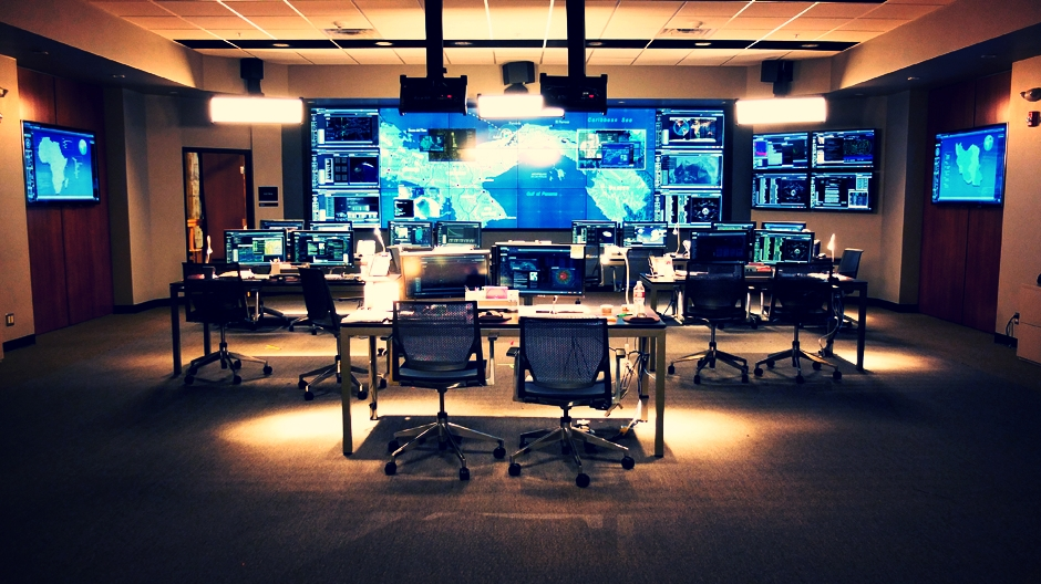 The TerrorMate 24 hour Control Room