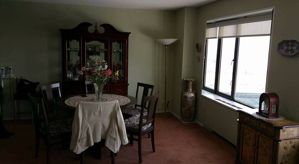 BEFORE: Looking for a Mid-Century Condominium? This is what you can have if you're willing to do a little updating.