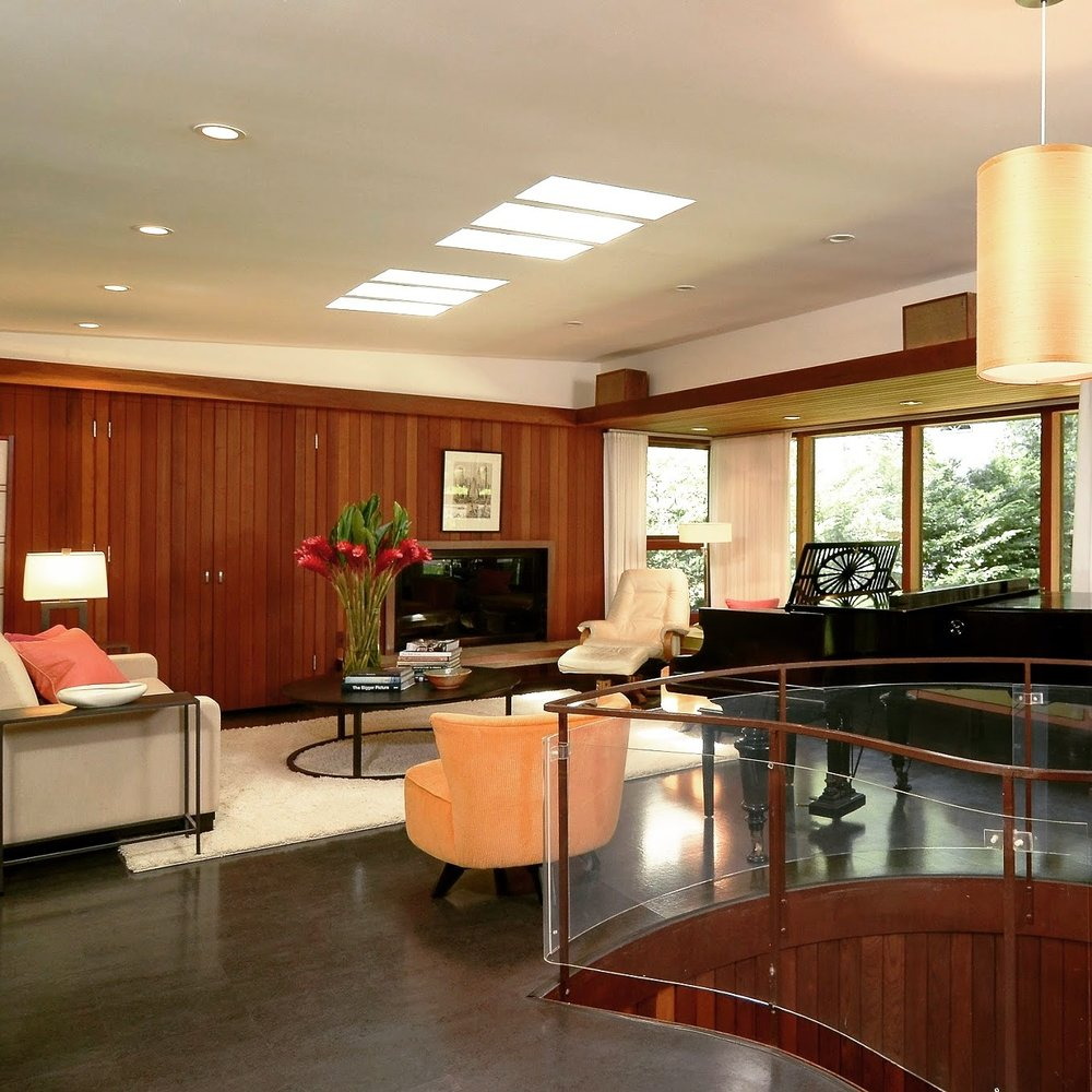 Winston Close and Elizabeth Scheu designed home - St. Paul, MN