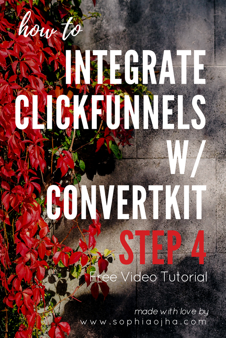 ClickFunnels_Integration_ConvertKit_4