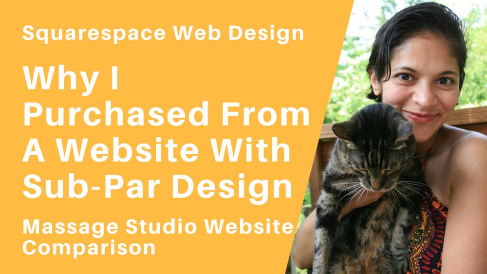 Design Vs Functionality Squarespace