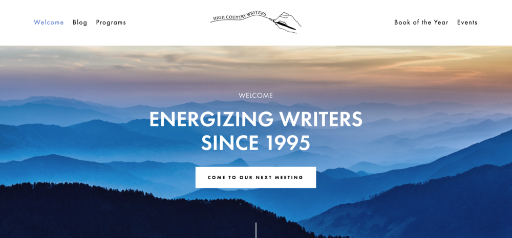 Writers' Group Website